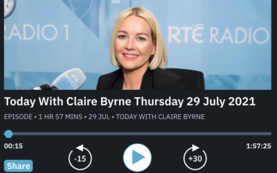 RTE Radio 1 Interview with Aoife